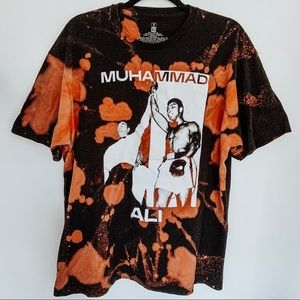 Muhammad Ali Bleached Tie Dye T-Shirt